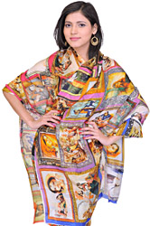 Designer Dupatta with Digital Printed Ladies