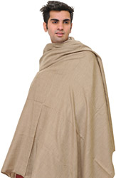 Cobblestone Plain Pure Pashmina Dushala for Men
