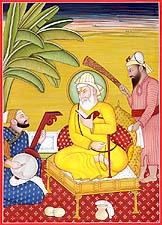 Baba Nanak, Bhai Mardana and Bala