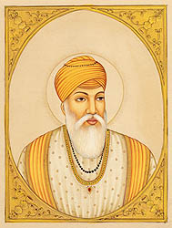 Guru Amardas, The Third Sikh Guru. (March 1552 – September 1st 1574)