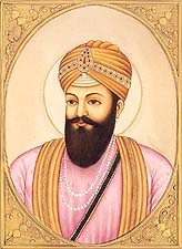 Guru Har Rai, The Seventh Sikh Guru. (February 28th 1644 – 6th October 1661)