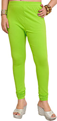Plain Legging with Elastic Waist