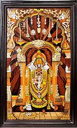 Lord Venkateshvara of Tirupati (Framed)