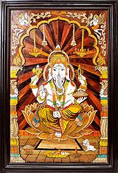 Lord Ganesha (Framed)