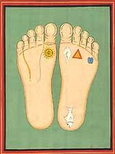 The Lotus Footprints of Srila Advaita Acarya