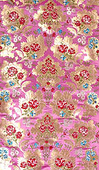 Orchid Brocade with Tibetan Lotuses