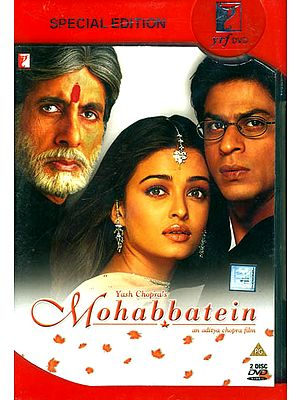 Love Stories: The Battle between Love and Fear - A Romantic Film (Mohabbatein) (DVD with Optional Subtitles in English, Arabic, Spanish, French, Malay, Dutch, Portugese)
