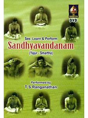 Sandhyavandanam (Yajur- Smartha) - See, Learn & Perform (DVD)