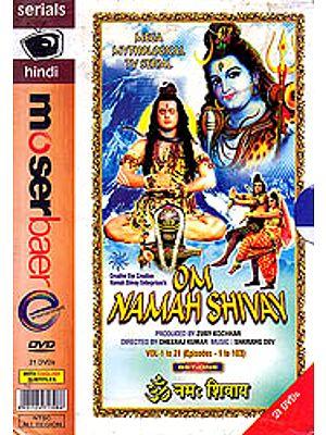 Om Namah Shivay: (Complete T.V. Serial in 208 Episodes) - Set of 42 DVDs