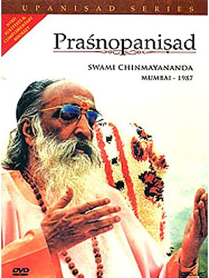 Prasnopanishad: Discourses by Swami Chinmayananda (With Subtitles and Complimentary Booklet) (Set of 3 DVDs)