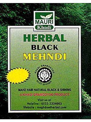 Herbal Black Mehndi (Make Hair Natural Black & Shining)