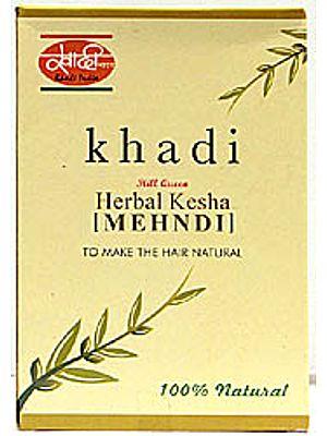 Herbal Kesha Mehndi - To Make the Hair Natural
