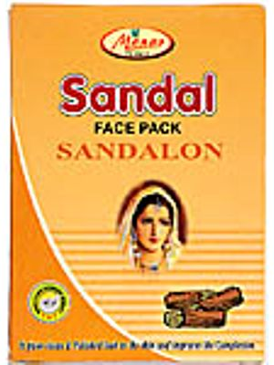 Manav Herbal Sandal Face Pack Sandalon (It gives clean & polished look to the skin and improves the complexion)