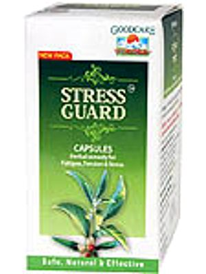 Stress Guard Capsules (Herbal Remedy for Fatigue, Tension & Stress)