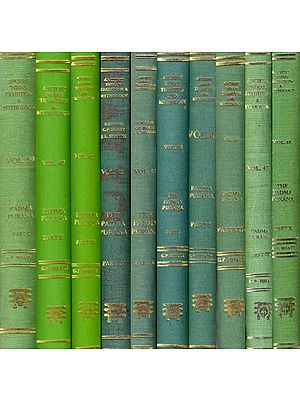 THE PADMA PURANA (Ten Volumes)