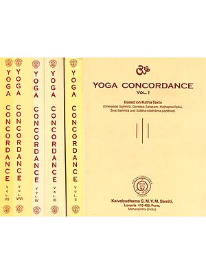 Yoga Concordance (Set of 7 Volumes)
