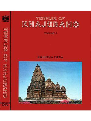 TEMPLES OF KHAJURAHO (2 Volumes)