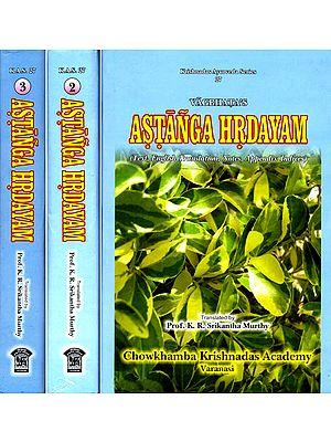 Vagbhata's Astanga Hrdayam: 3 Volumes
