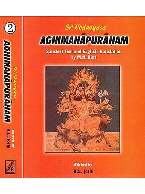 AGNI PURANA (Two Volumes)