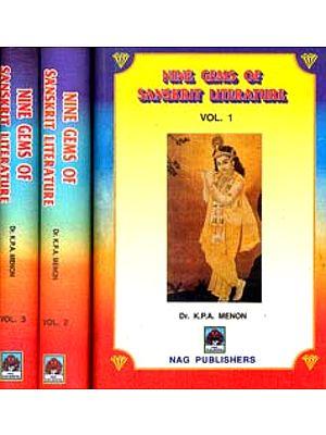 Nine Gems of Sanskrit Literature (Set of Three Volumes)