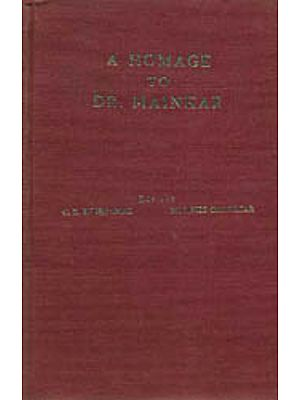 A Homage to Dr. Mainkar: A Glimpse into The Research Work Done Under His Guidance (An Old and Rare Book)