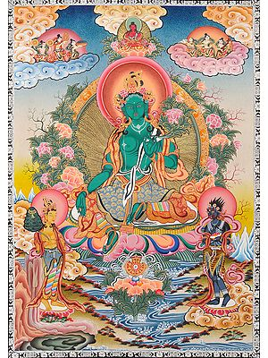 Emerald Green Goddess Green Tara