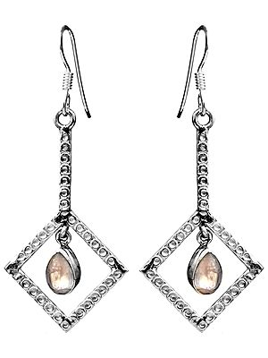 Sterling Earrings with Gems