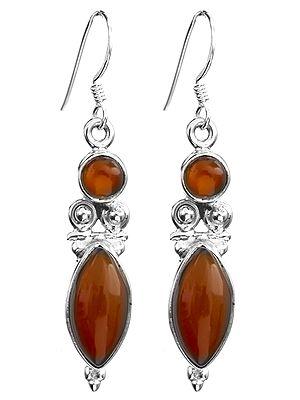 Twin Gemstone Earrings
