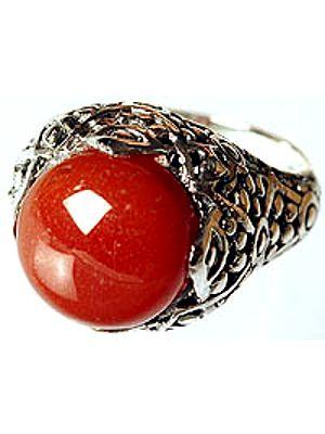 Carnelian Finger Ring
