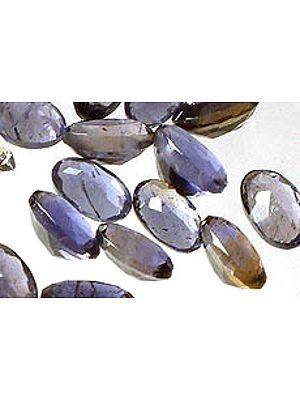 Iolite 3 X 5 mm Size Ovals (Price Per 10 Pcs)