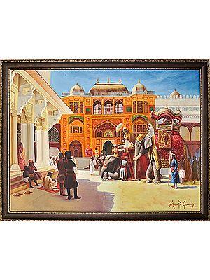 Medieval Rajasthan II (Framed)