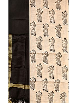 Salwar Kameez Fabric from Jharkhand with Printed Ladies