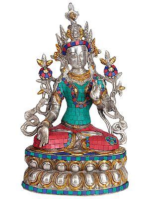 (Tibetan Buddhist Deity) Goddess White Tara