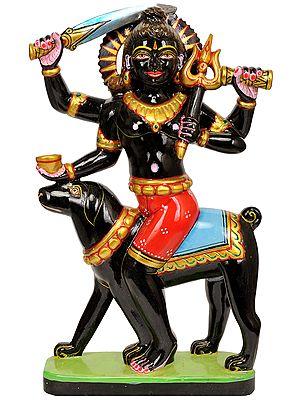 Benevolent Shiva as The Ferocious Bhairava