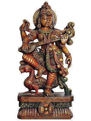 Large Size Goddess Saraswati