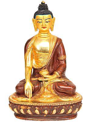 Gautama Buddha in Mara-vijaya Mudra (Tibetan Buddhist Deity)