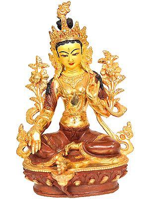 The Savior Goddess Green Tara