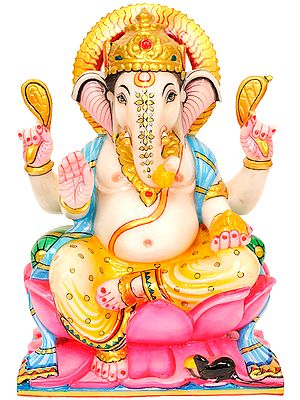 Lalitasana Blessing Ganesha