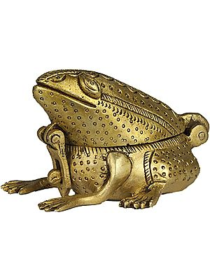 Feng Shui Frog Box