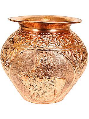 Radha-Krishna Puja Kalash
