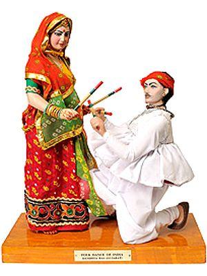 Folk Dance of India- Dandhya Ras (Gujarat)