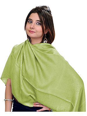 Plain Water-Pashmina Stole from Nepal