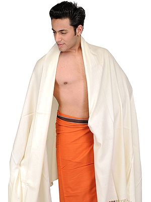 Plain Men's Dushala from Amritsar (Lohi)
