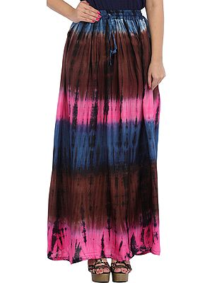 Batik Printed Long Skirt