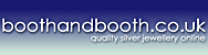 BoothandBooth - Quality Silver Jewellery Online - An online store specialising in the finest STERLING SILVER jewellery set with genuine SEMI-PRECIOUS GEMS. Handmade necklaces, pendants, earrings, bracelets including the UK's largest turquoise and larimar collection.