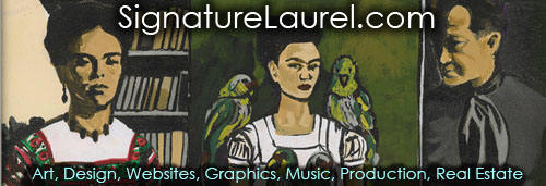 Signature Laurel - Original Concepts in Art, Design, Websites, Graphics, Music, Production, Real Estate, & More!