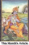 Krishna the Divine Lover in Indian Art