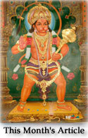 Shri Hanuman - Biography of a Masterful Servant