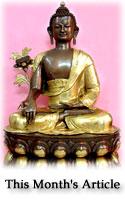 Each of us a Healer: Medicine Buddha and the Karma of Healing
