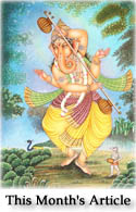 Uma Sutam Ganesha: His Mother's Son